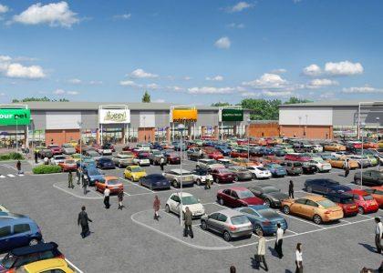 Grovebury Retail Park